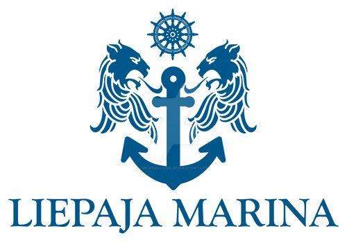 Liepaja Marina logo design by mcwebalizer
