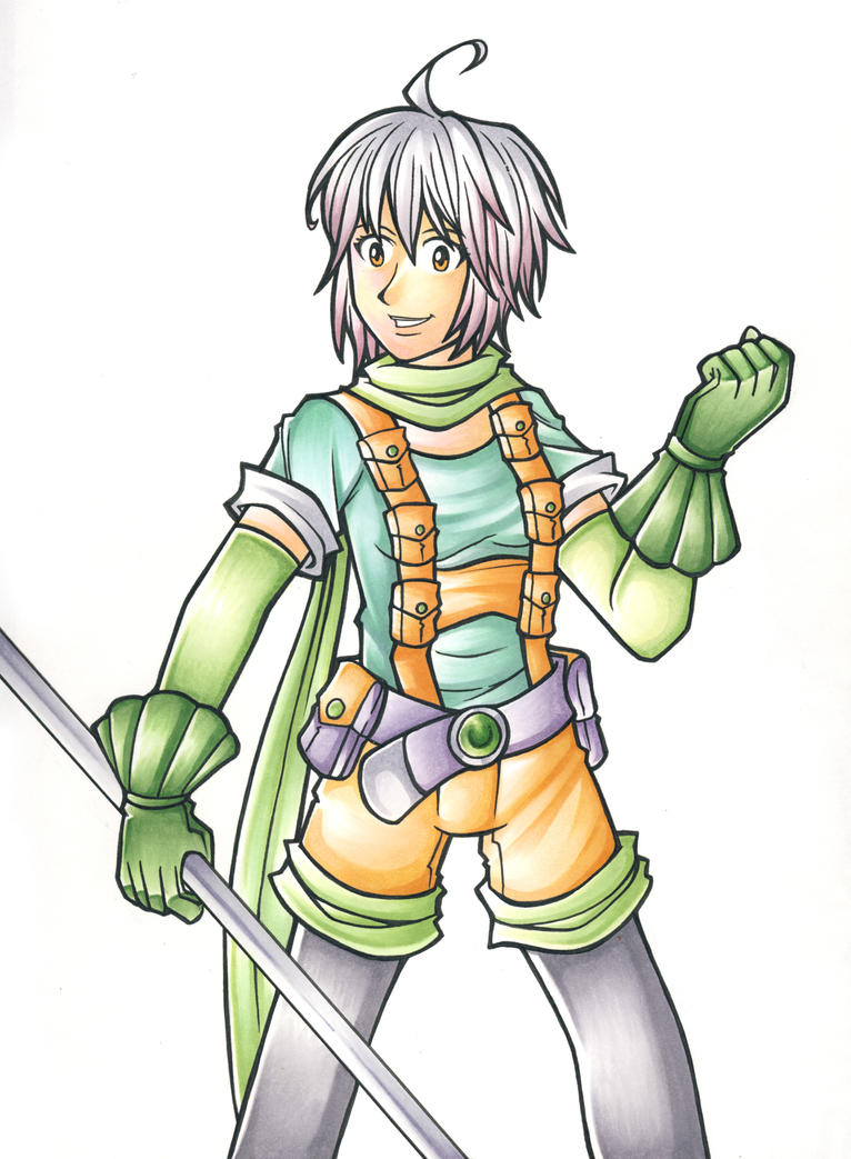 Pascal from Tales of Graces by middletails