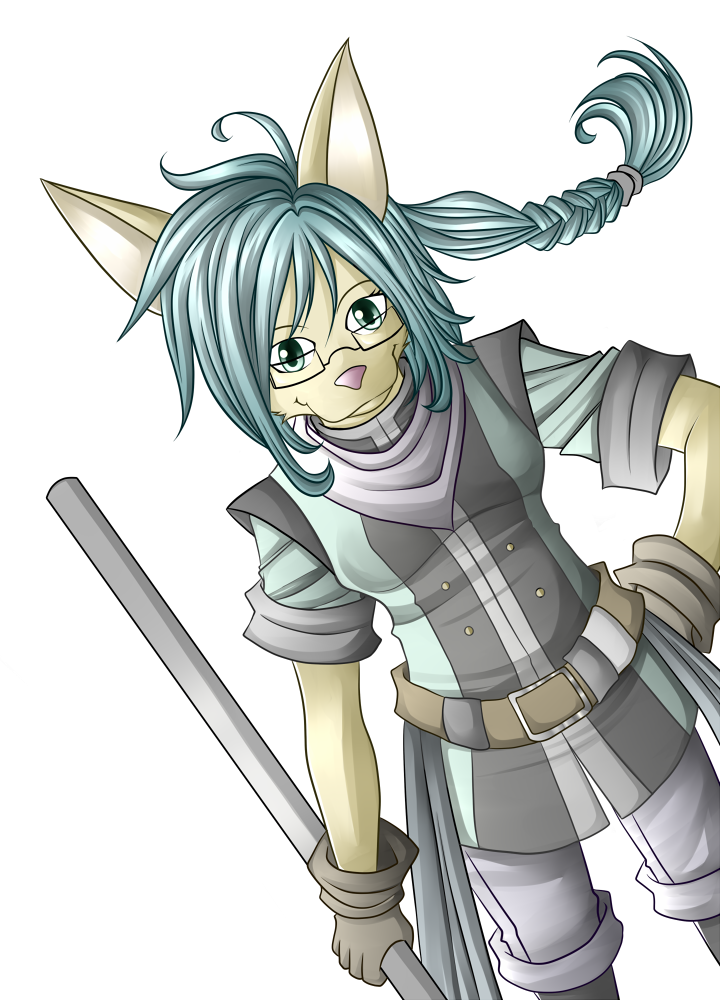 Cat Girl by middletails