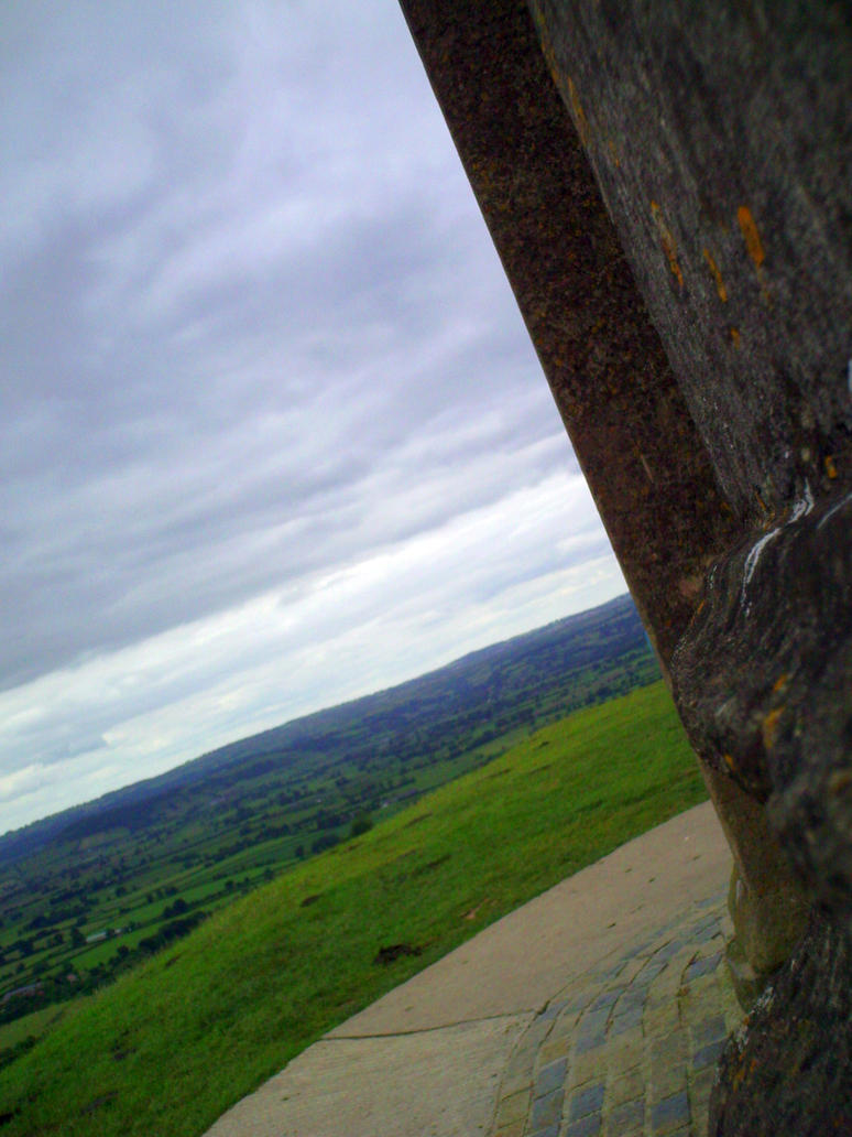 A View from Glastonbury Tor by speculativism