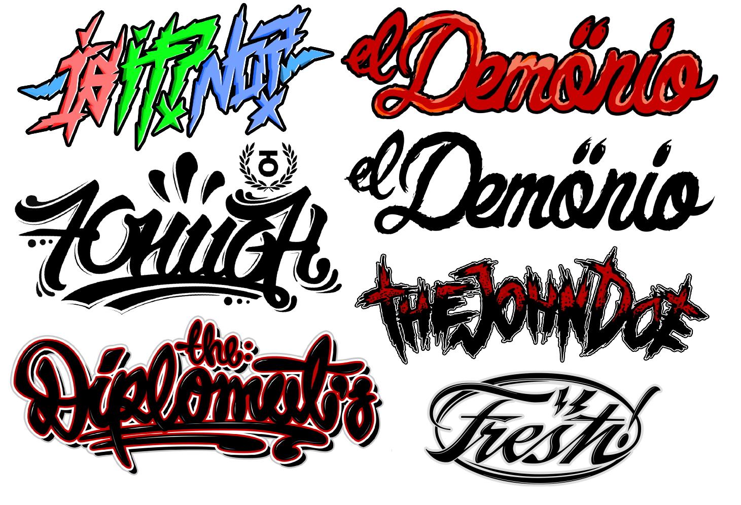 random logos by Webst3R