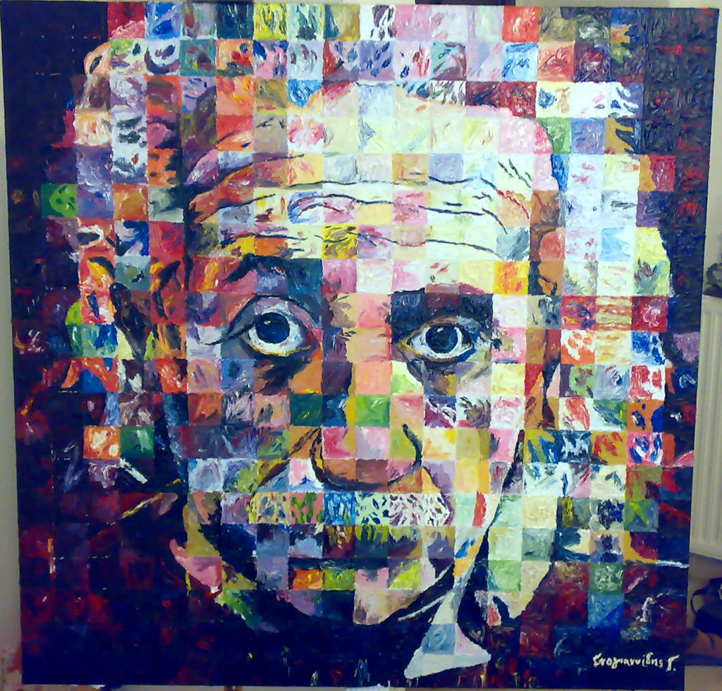 Albert Einstein By Dompred On DeviantArt