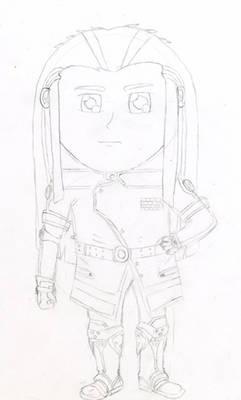 Space Cowboy Chibi Fanart