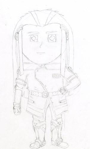 Space Cowboy Chibi Fanart by daols