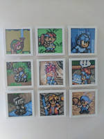 Framed Perlerbeads by daols
