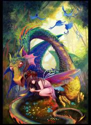 Dragon by irish-blackberry