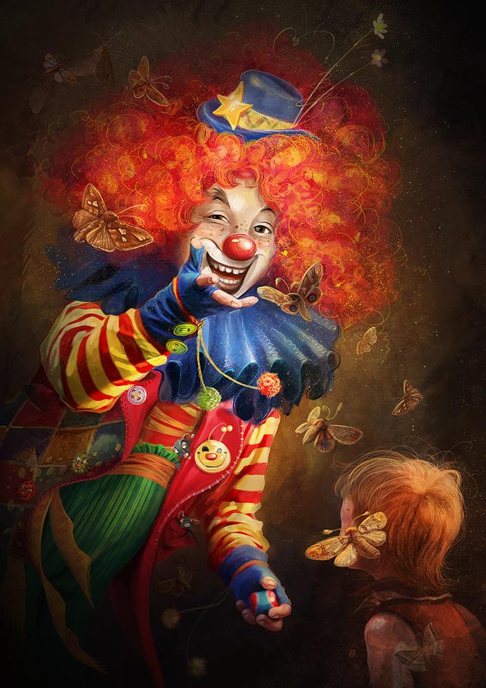 Clown by irish-blackberry on DeviantArt