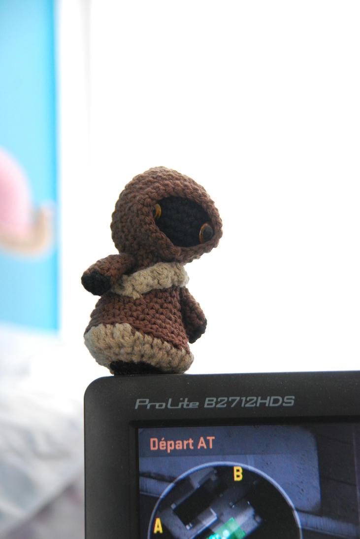 Jawa Star Wars Amigurumi : Crochet : Jawa (Star Wars) by Ahookamigurumi on DeviantArt