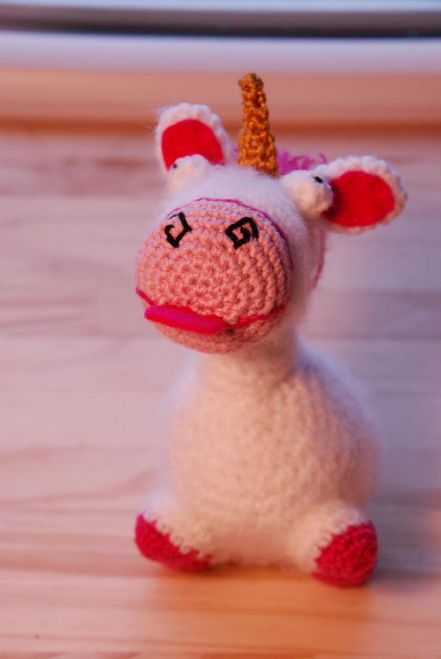 Fluffy Unicorn Amigurumi Pattern - Free - Ami Amour | 1345x900