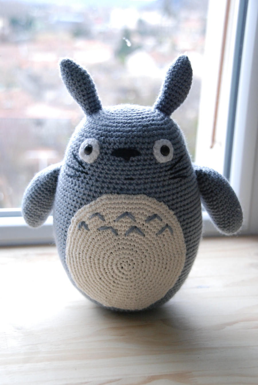Crochet : Totoro by Ahookamigurumi on DeviantArt