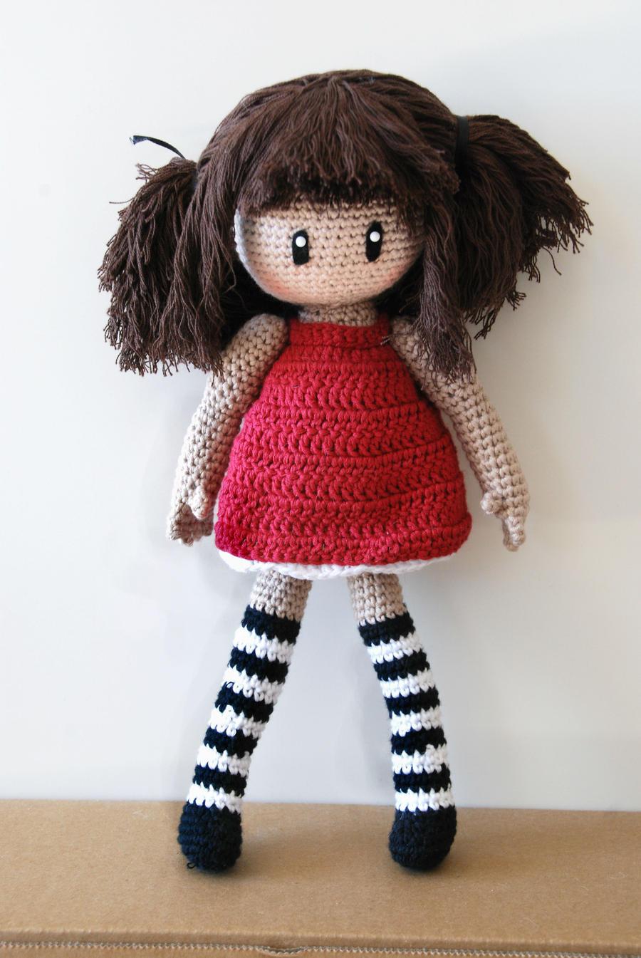 Crochet : Gorjuss amigurumi by Ahookamigurumi