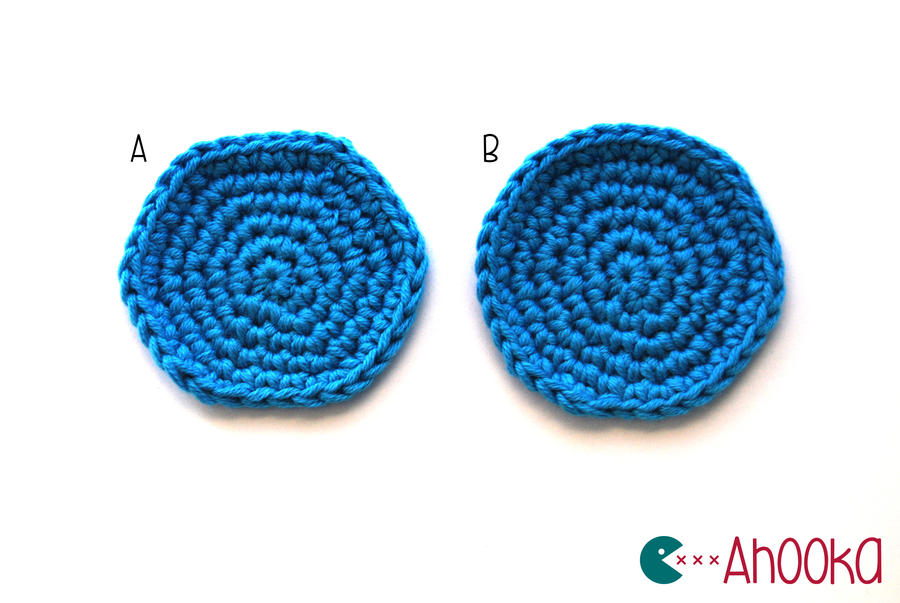 Crocheting Rounds : Tip : Nice round crochet circle by Ahookamigurumi on DeviantArt
