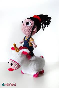 Agnes (despicable me) amigurumi