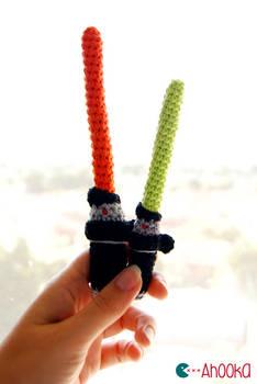 Star Wars lightsaber [crochet] pattern