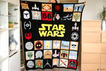 May the 4th be with u ! Star Wars crochet blanket