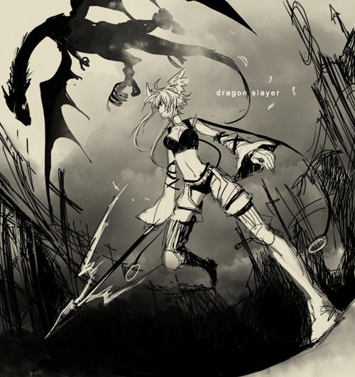 DRAGON SLAYER 2 by nairchan