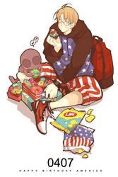 HBD AMERICA by nairchan