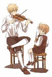 Violin by nairchan