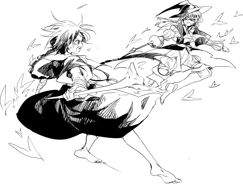 Magi fight by nairchan