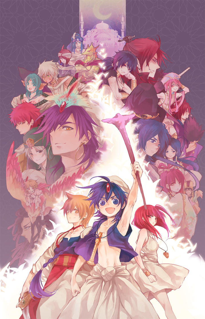Magi only event by nairchan