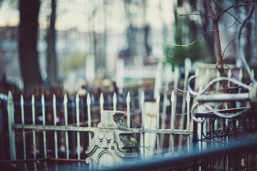 4. Old Graveyard by birdofdecadence