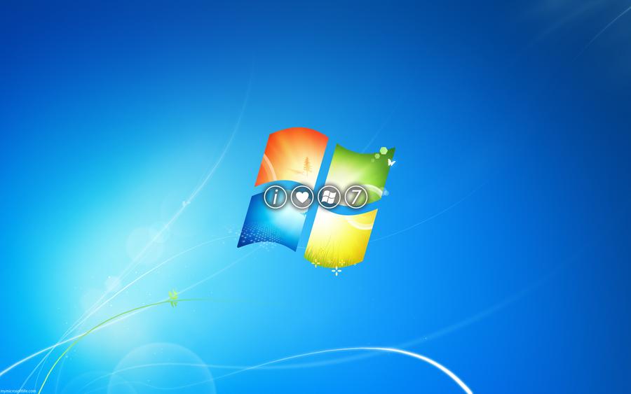 I Heart Windows 7 by mymicrosoftlife