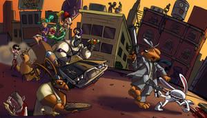 Sammun-mak Attack by AmazingTrout