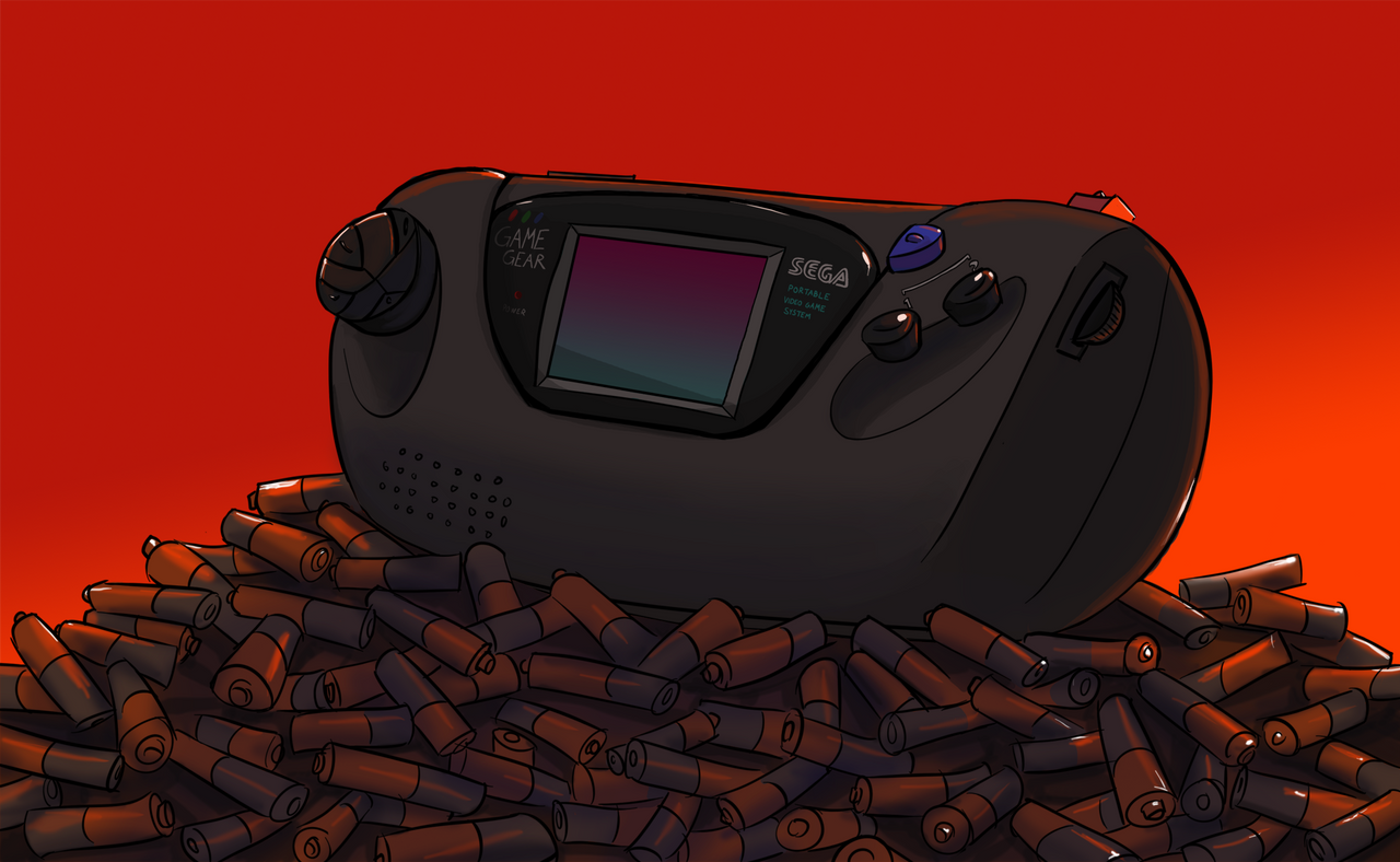 Sega Game Gear by AmazingTrout