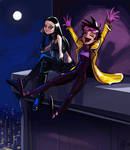X-23 and Jubilee Hangin Out