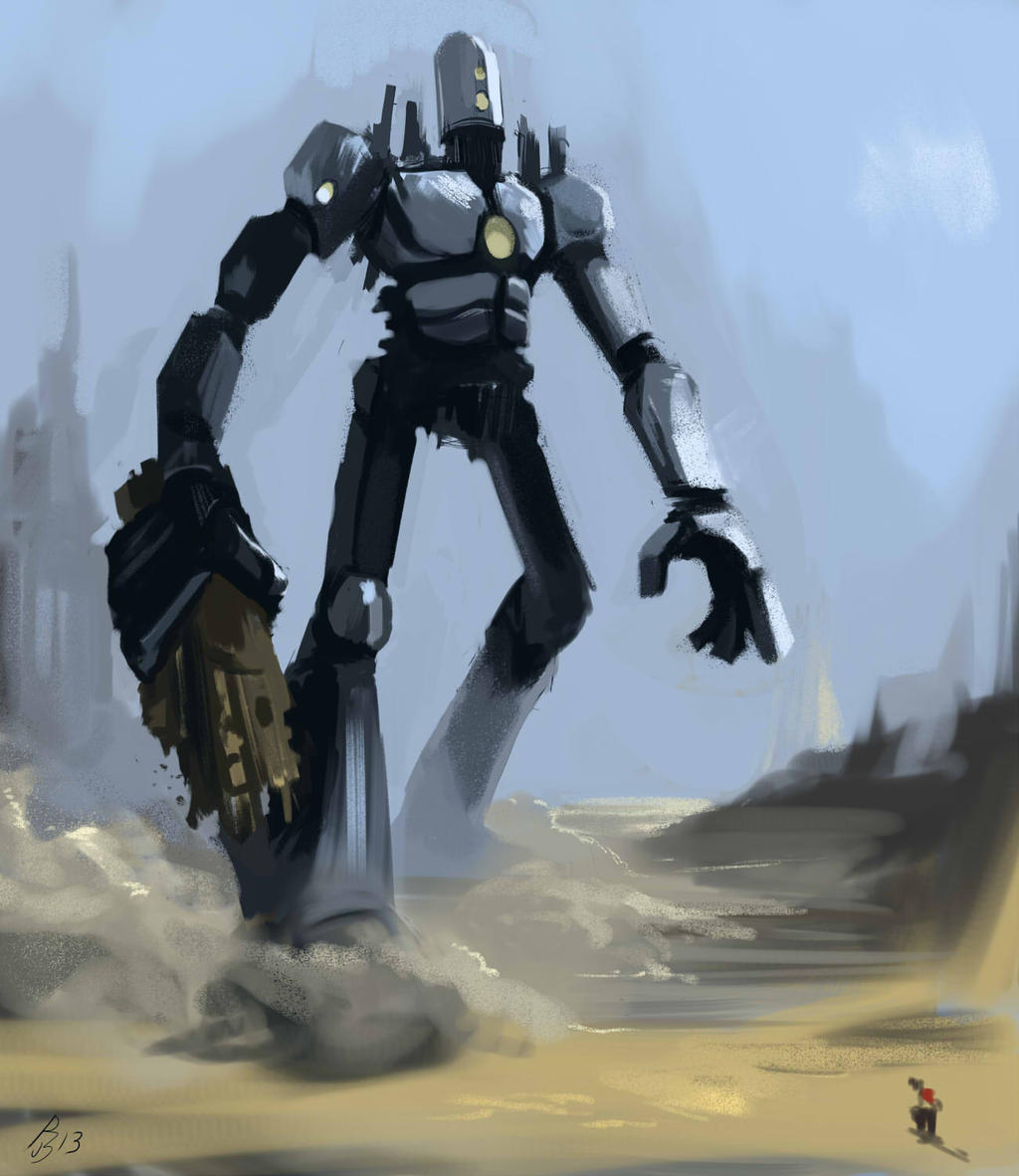 how to make a big robot
