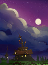 Tappy Witch Background