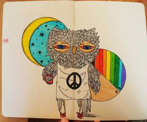 Weird Owl by Razum22
