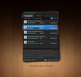 Player download interface
