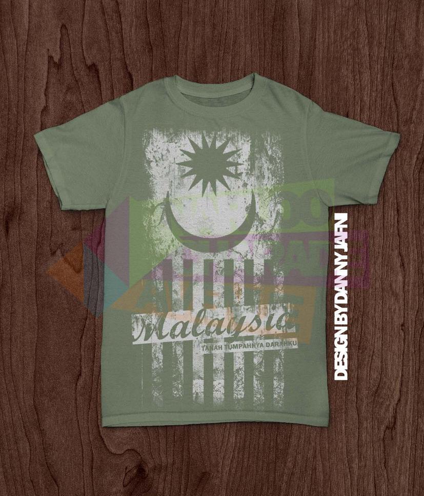 Shirt design malaysia - Tshirt Design Malaysia Tanah Tumpahnya Darahku By Dannyjafni