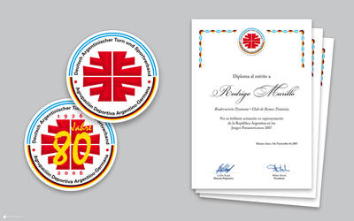 2006 DAKSV - Logo, diploma