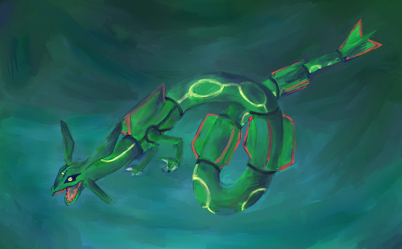 emerald rayquaza wallpapers - photo #37