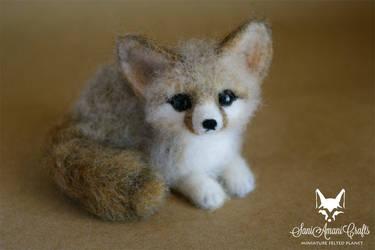 fennec fox by SaniAmaniCrafts