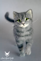 Gigi cat II by SaniAmaniCrafts