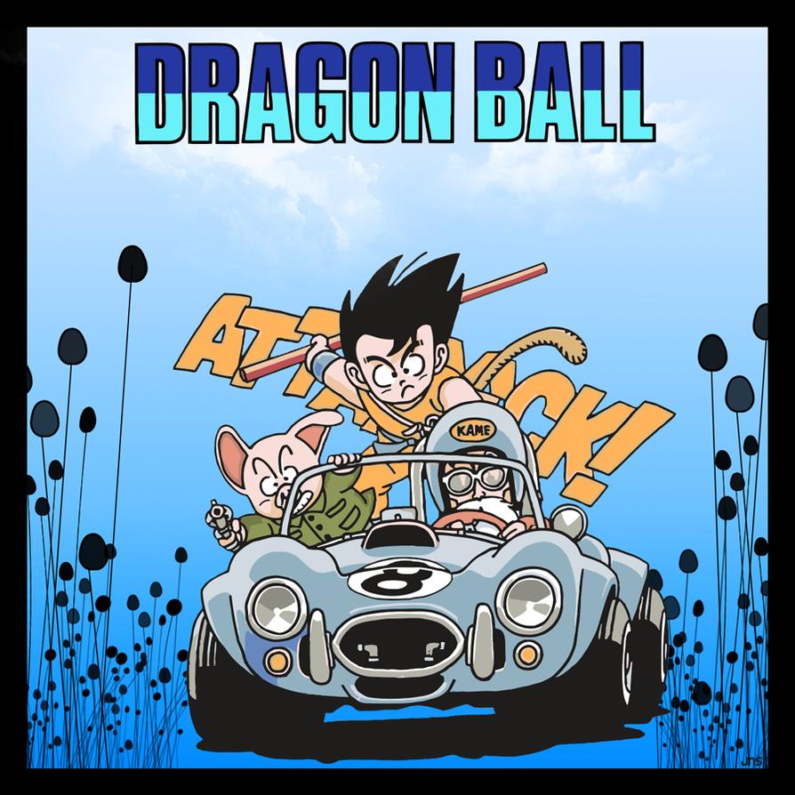Goku Ulong y Follet Tortuga by Sauron88
