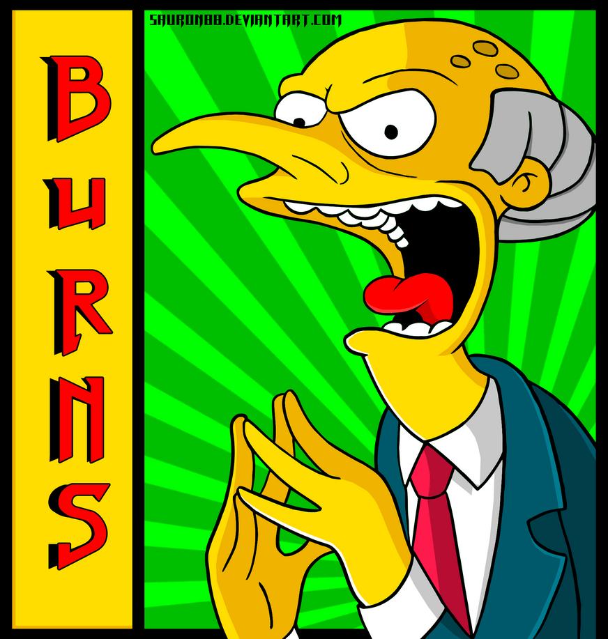 Burns by Sauron88