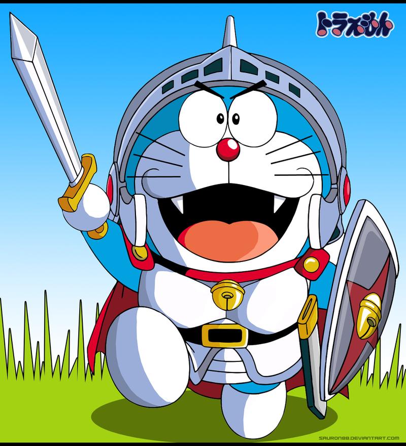 Comision Doraemon El Gladiador By Sauron88 On DeviantArt