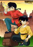 Ranma y Ryoga