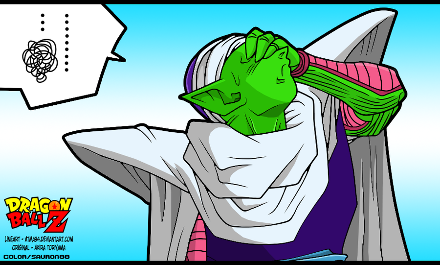 Piccolo OMG! by Sauron88 on DeviantArt