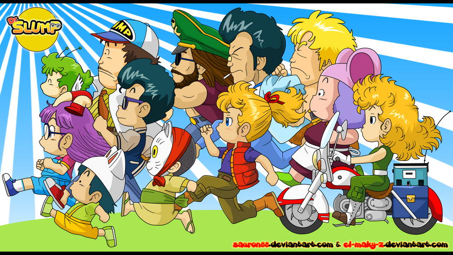Doctor Slump Dr__slump_by_sauron88-d67dp70