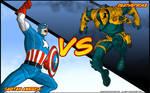 Capitan America Vs Deathstroke