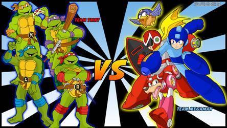 Team TMNT VS Team Megaman