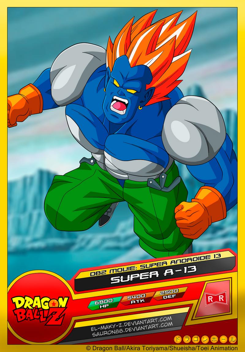 Android 13 on dragonball ultimatum deviantart - Super san dragon ball z ...