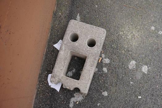 Pareidolia: Roman brick