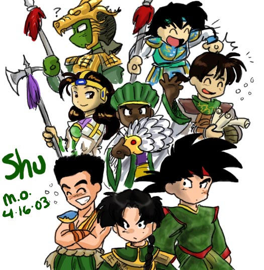 The Shu Kingdom by agra19