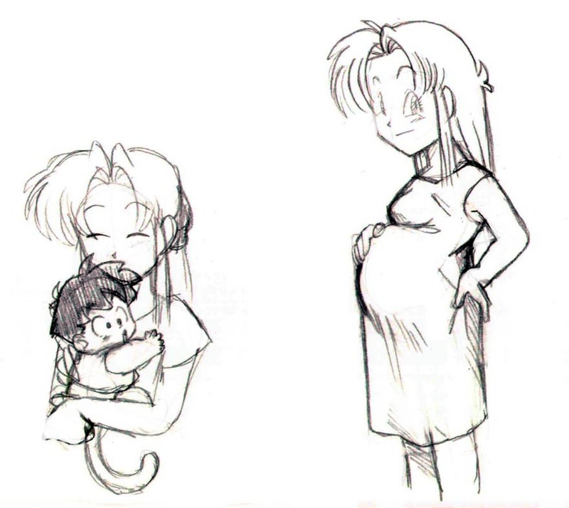 Agra mommy sketches by agra19